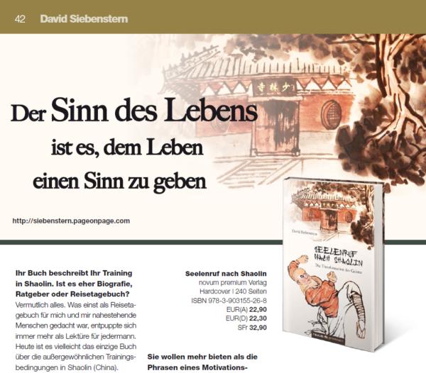 Autoreninterview David Siebenstern